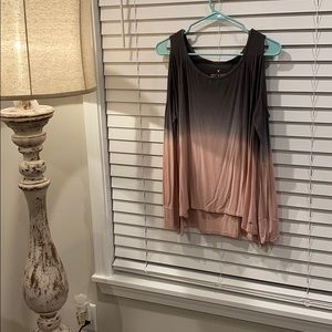 Open shoulder soft and sexy top